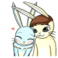 Ammieka bunny love story Animation 1
