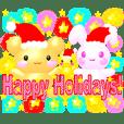 3D アンドレア☆クリスマス&正月あけおめ