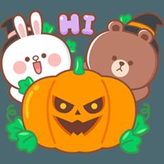 BROWN & FRIENDS : Halloween (EN)