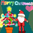 Santa Claus & A Happy & Congratulations