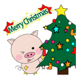 The lives of little pigs2-10 Christmas