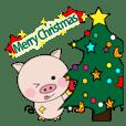 動く!子ブタちゃんの生活2-10 クリスマス