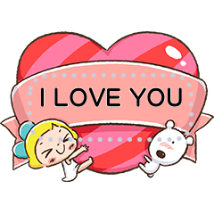 Lemon & Sugar Heartfelt Message Sticker