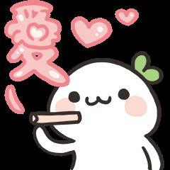 สติ๊กเกอร์ไลน์ Lailai & Chichi Heartfelt Stickers