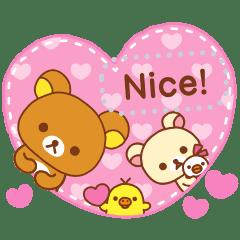 Rilakkuma Message Stickers