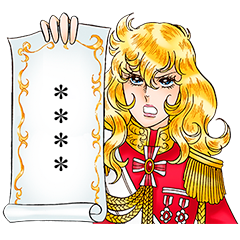La Rose de Versailles Custom Stickers
