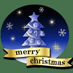 大人のメリークリスマス Line スタンプ Line Store