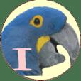 鳥の写真の日常会話スタンプ