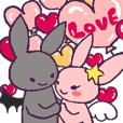 devil rabbit which is in love