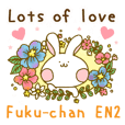 Fuku-chan sticker No.2!! English