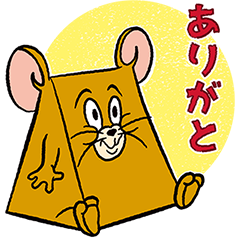 Tom & Jerry TENKOMORI Stickers