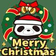 パンダ転がし(2)クリスマスシーズン