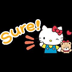 Hello Kitty 迷你贴图
