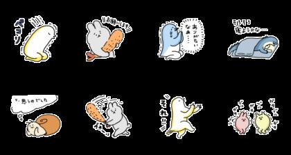 furuerutori Usual Sticker