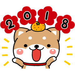dog 2018 line stickers line store