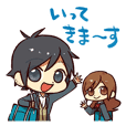 HORI san to MIYAMURA kun Sticker Vol.1