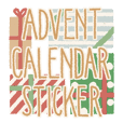 Advent Calendar Sticker
