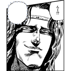 Manga Stickers: Hokuto no Ken
