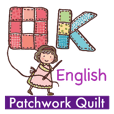 Patchwork Quilt with cats -English
