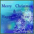 white christmas & happy new year.