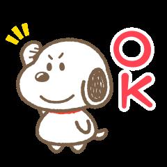 สติ๊กเกอร์ไลน์ Snoopy: Round Boy