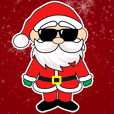 Santa and Friends Animated Stickers