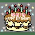 Birthday cake (December)