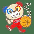 KUMAMOTO VOLTERS BORUTAN Sticker