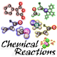 Chemical reaction stickers, chemistry