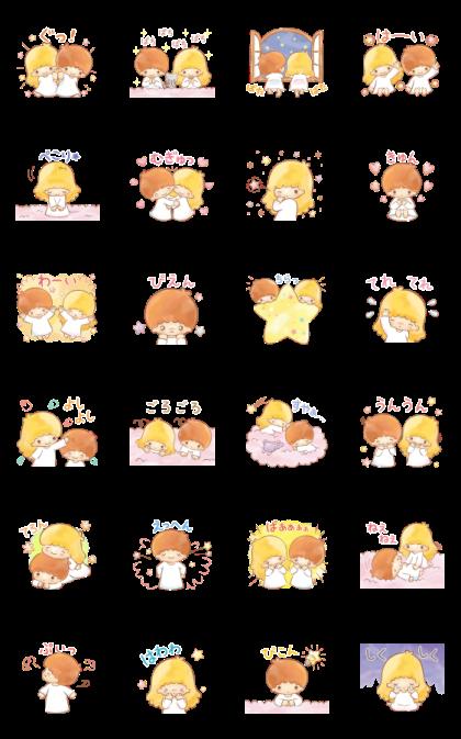 キキ&ララ オノマトペスタンプ♪