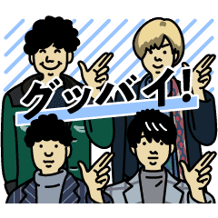 Official HIGE DANdism Stickers