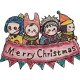 Four kids' Christmas & New Year