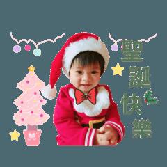 采潔的快樂耶誕