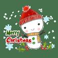 cute merry x'mas & happy new year