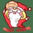 菠蘿與佐久之聖誕快樂!!