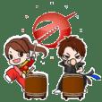 野和太鼓スタンプ