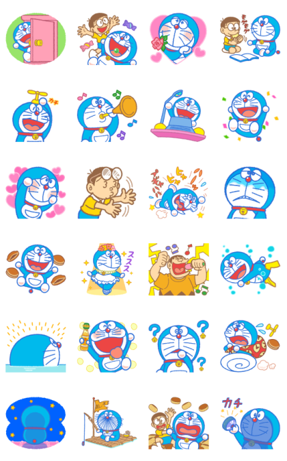 Doraemon Moving Backgrounds