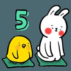 懶散兔與啾先生的OS人生 5
