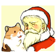 Hamsticker X'mas version