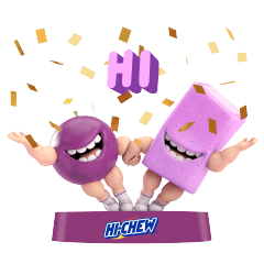 HI-CHEW! Attacking Grapeman!