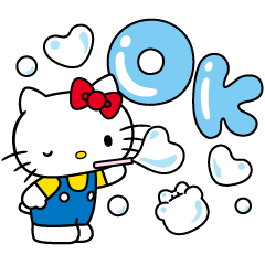 背景動起來 Hello Kitty