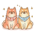 Shiba Inu Daily Sticker 2