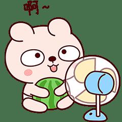 冷兔寶寶夏日生活