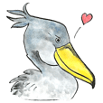 The shoebill he's name is Terada