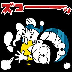 ドラえもん(On-Naji!)スタンプ