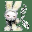動物玩偶貼紙(日文版)