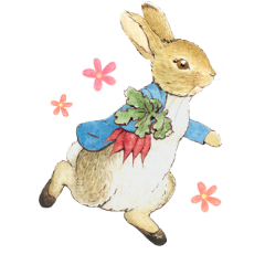 Peter Rabbit Animated Stickers