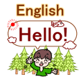 English greeting set! BOY!