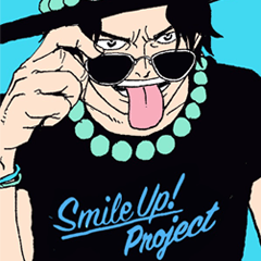 ONE PIECE Smile Up! Stickers