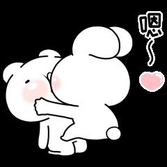 緩緩×甜心♡熊兔寶+天天曬恩愛 好感貼圖